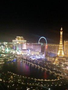 the view from the Cosmo